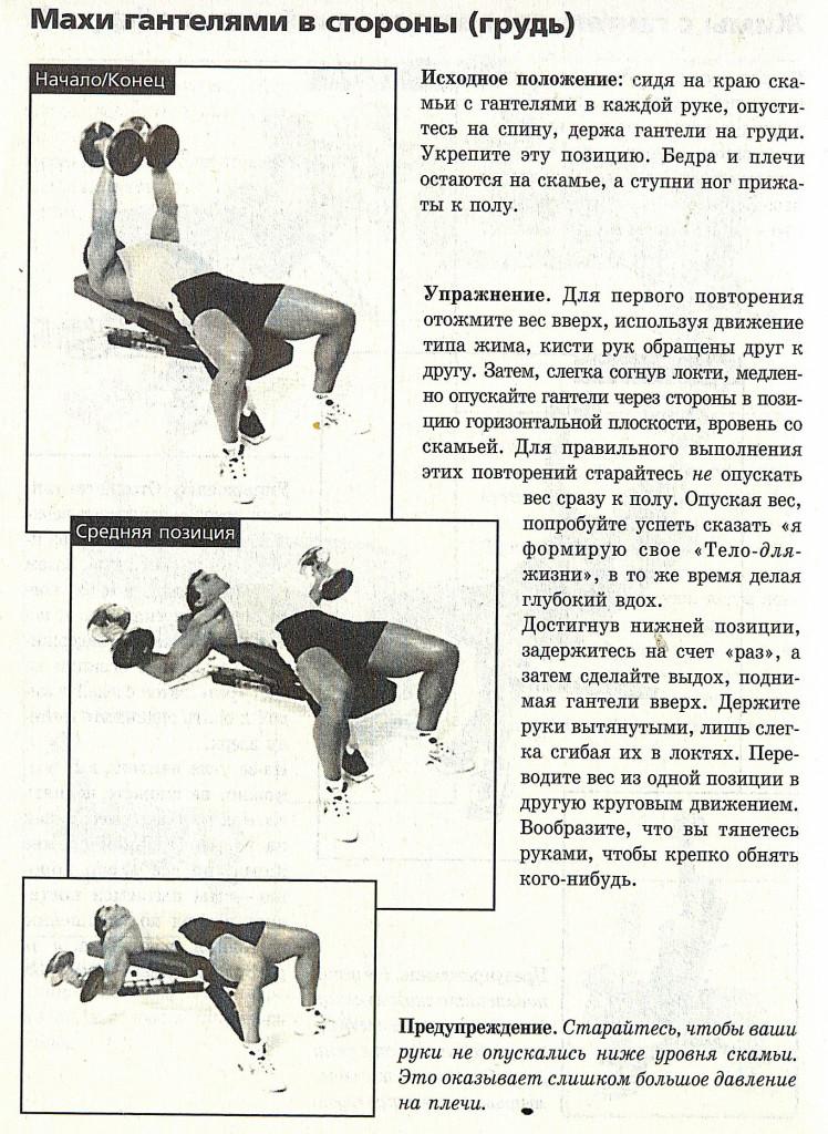 Развитие грудных мышц