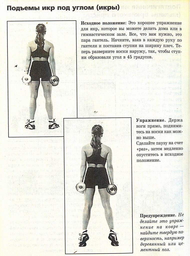 Икроножные мышцы - 2а